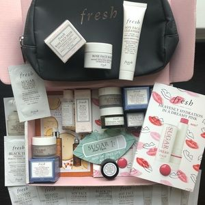 NWT Fresh Skincare/Makeup Travel Product Bundle